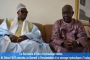 Agenda : Visite du secrétaire d'état à l'hydraulique rurale