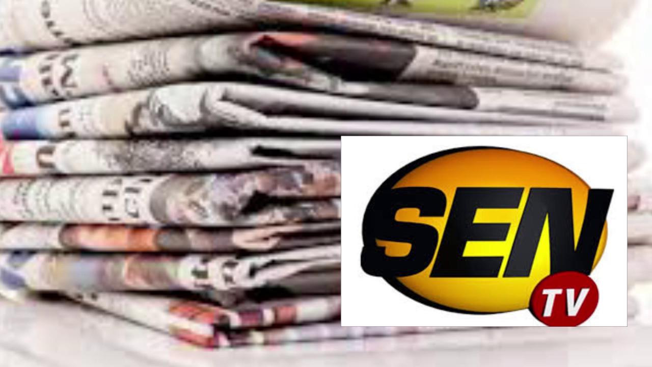 Revue de presse Sentv du mercredi 16 septembre 2015