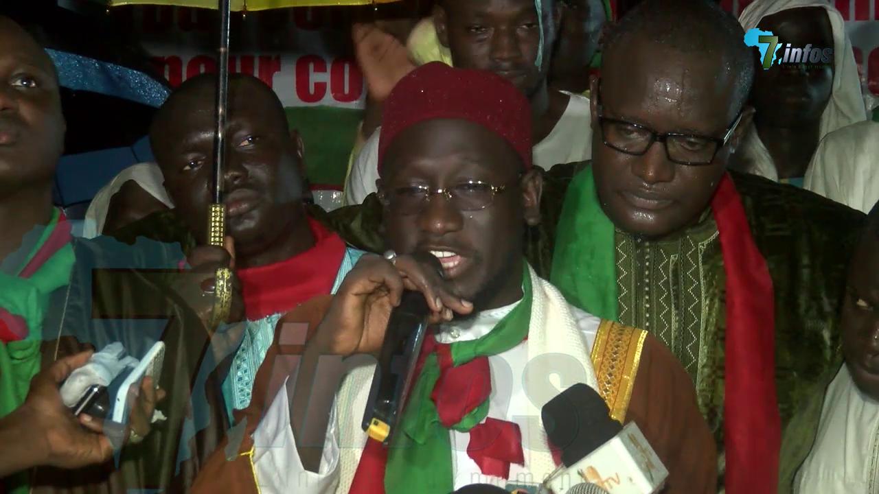 ( VIDEO  )  L'intégralité de la déclaration de Serigne Assane Mbacké Atékh