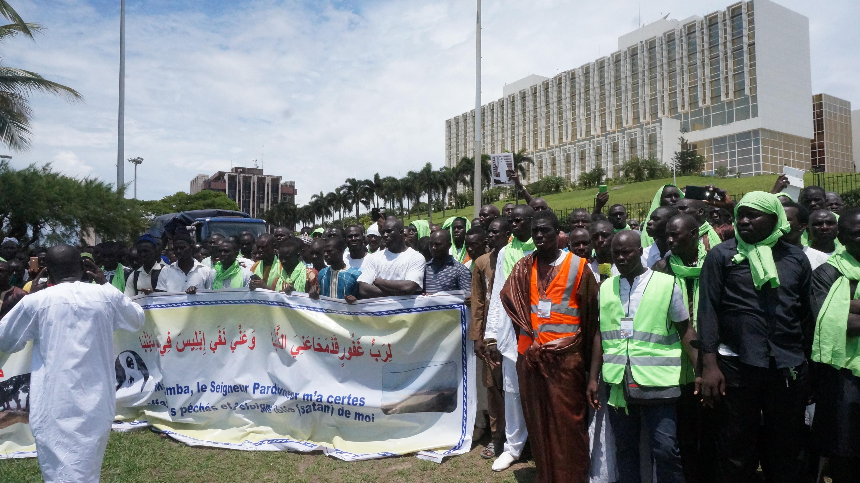 SEMAINE CULTURELLE CHEIKH AHMADOU BAMBA AU GABON, la marche de Libreville en image !