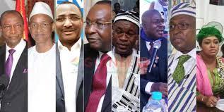 Présidentielle en Guinée: Les 7 adversaires du Pr Alpha Condé dans une déclaration commune ...!