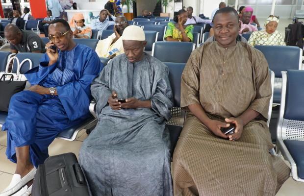 Les images du Comité D'organisation Du Grand Magal De Touba pour le Gabon  par mourdes.info