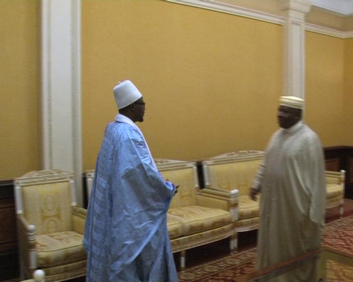 La délégation de Touba reçue par le président gabonais Aly Bongo !