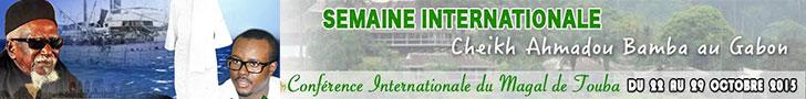 Appel  Conférence internationale du grand magal de Touba au Gabon du 22 au 29 octobre 2015