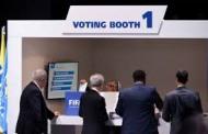 Résultats des votes pour la présidence de la FIFA