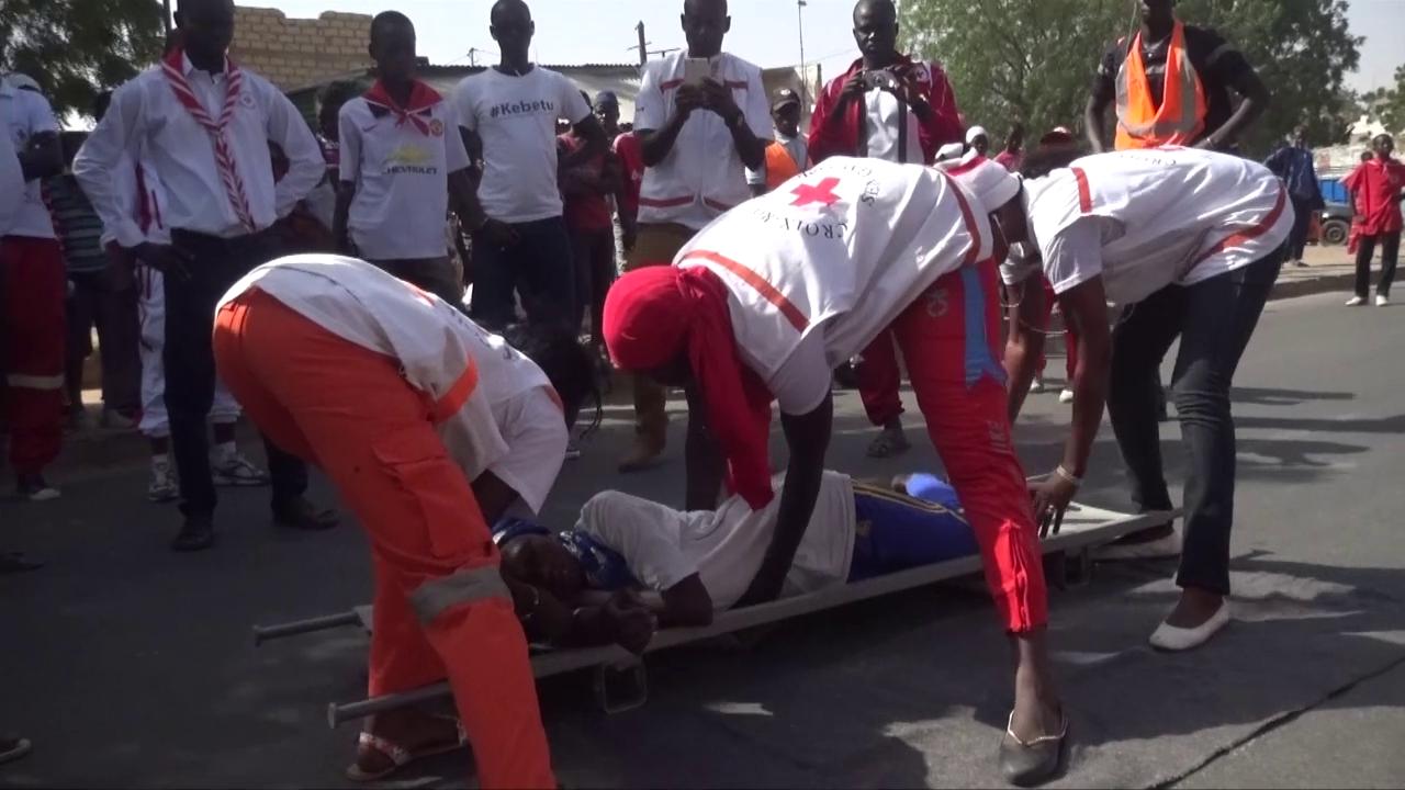 Croix rouge de Mbacké : Un camp de 3 jours pour renforcer la capacité des secouristes