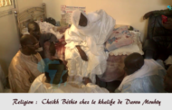 Religion : Cheikh Béthio chez Serigne Abass 4ème khalife de Darou Mouhty