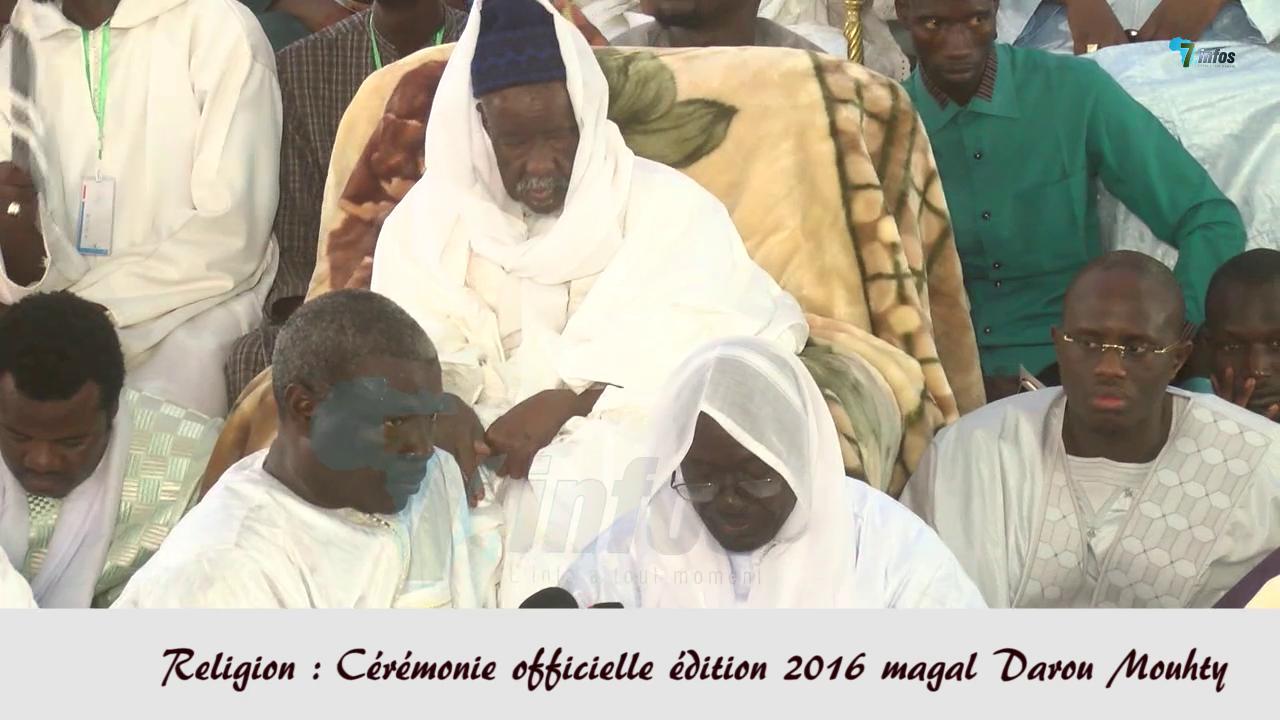 Religion : Cérémonie officielle édition 2016 magal Darou Mouhty