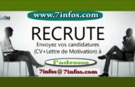 Recrutement : le site www.7infos.com est la recherche de collaborateurs