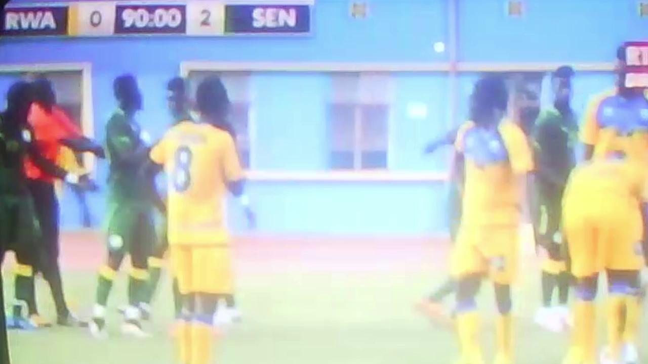 Football : match amical, le Rwanda battu à domicile par le Sénégal (  0 - 2 )