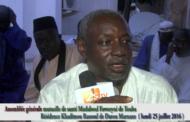 Assemblée générale de la mutuelle de santé Matlaboul Fawzeyni de Touba