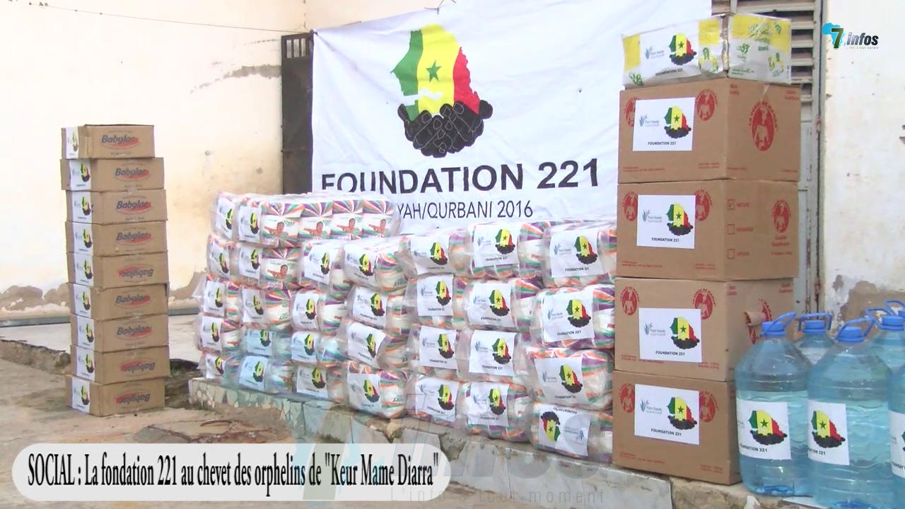 Société: La fondation 211 au chevet de orphelins de Keur Mame Diarra à Touba
