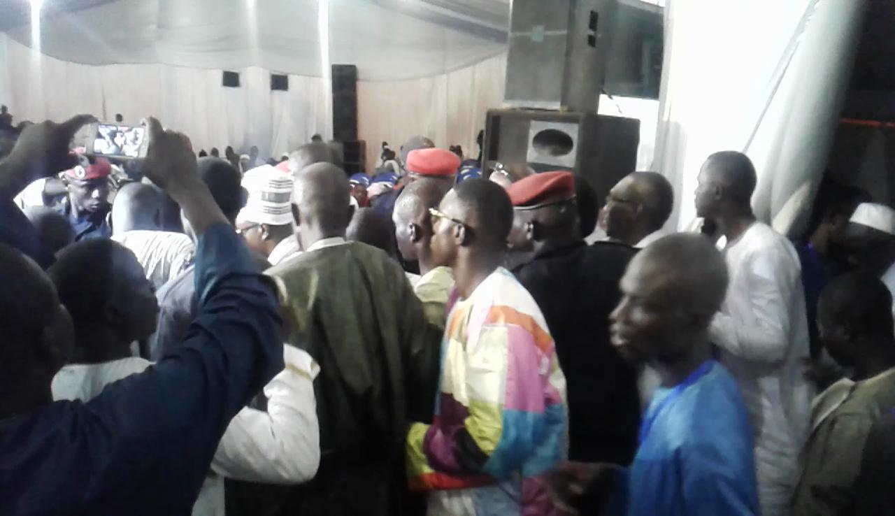 Cérémonie officielle magal Serigne Abdou Khadre Mbacké