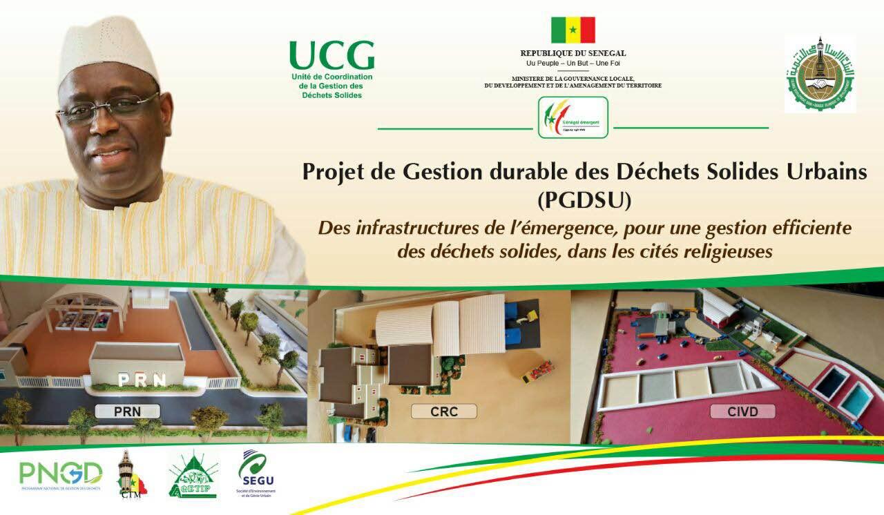 «Des Infrastructures de nouvelles générations pour un développement de l'économie circulaire des déchetssolides»