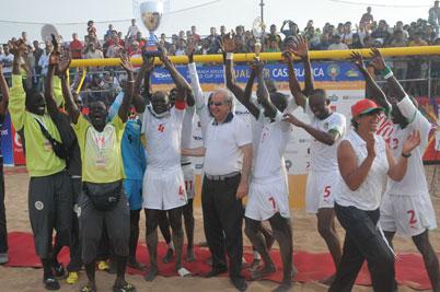 Beach Soccer : Le Sénégal champion d'Afrique 2016
