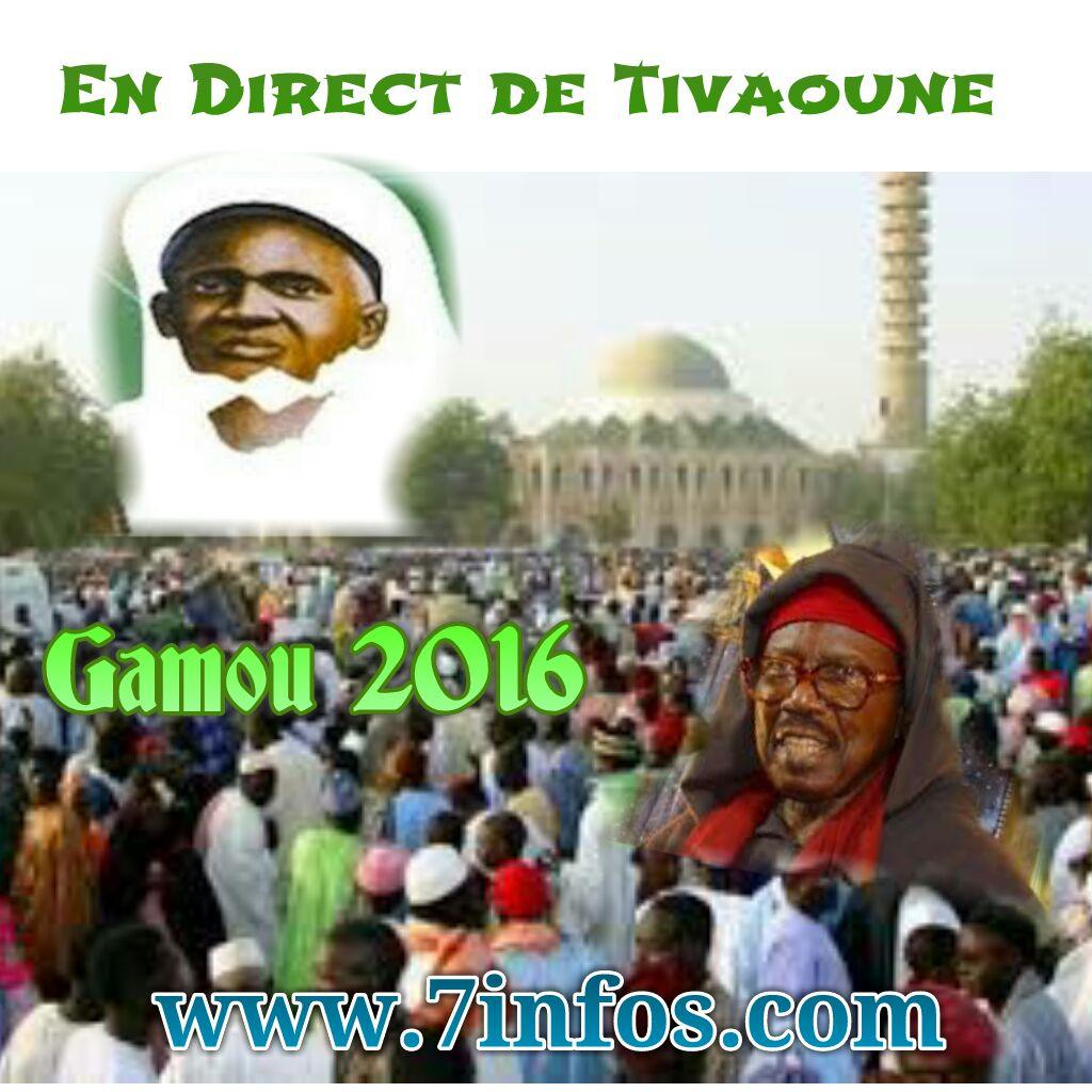 Les temps forts du Gamou  2016 en DIRECT sur www.7infos.com