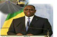 En 2017 , le président Mackt Sall annonce la construction de plusieurs routes dans les régions