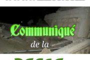 Effondrement d'un mur à Mermoz entraînant la mort de 4 enfants, la DSCOS sort un communiqué pour des précisions.