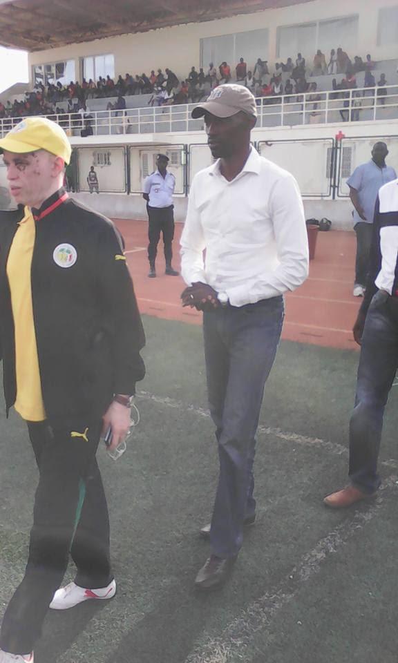 Sport : Pape Sidy Lo président de la ligue régionale de foot de thies: Thiés va rayonner dans quelques années dans le championnat national.