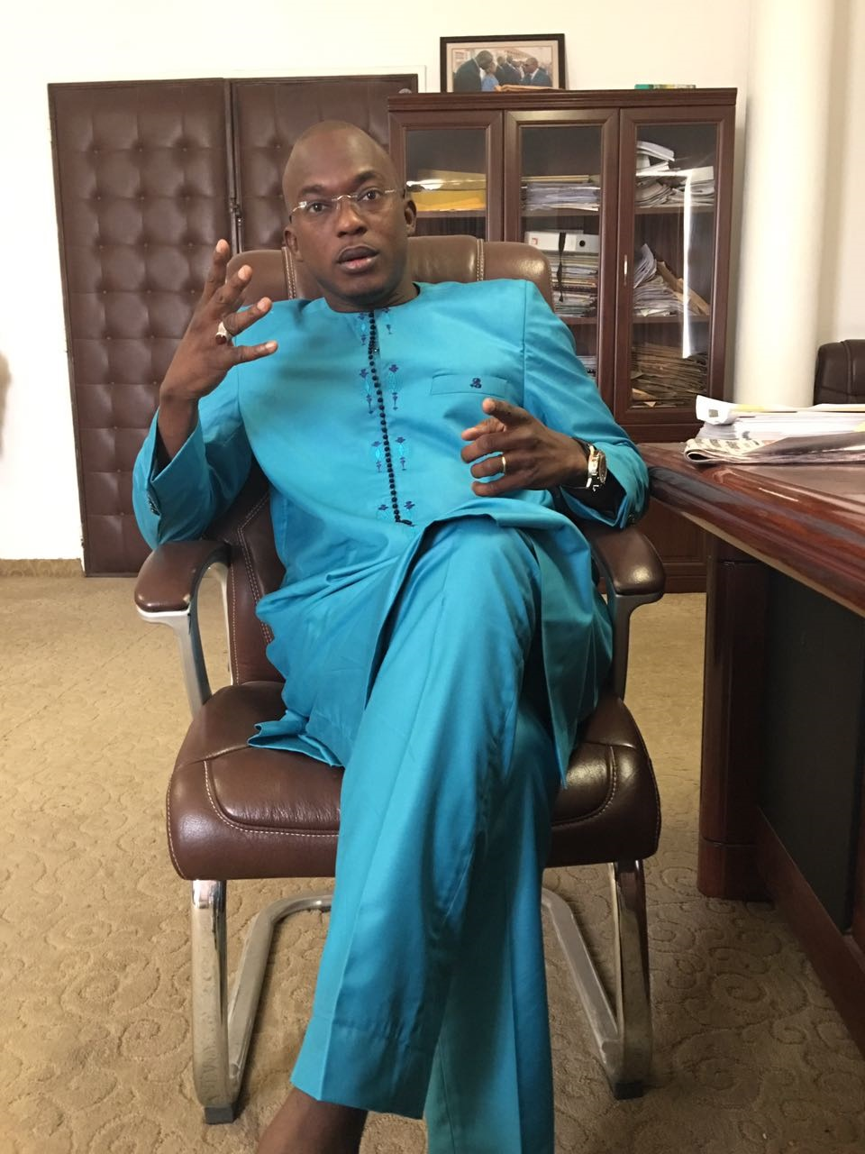 Politique: ABDOU NDIAYE AU CHEVET DES MOSQUÉES DE NIORO : «  L'opposition est composée de perroquets »