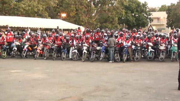 L'entreprise Diarra sarl vers la résolution des problèmes d'insécurité et d'accidents causés par les vélos-taxis jakarta