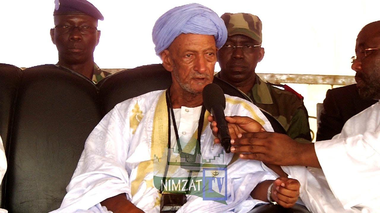 Cheikh Aya Aïdara LE NOUVEAU KHALIFE DE LA KHADRIA COMMUNIE AVEC SES TALIBES DE THIES