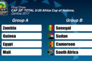 Sport : CAN U20 en Zambie , le Sénégal parmi les pays à suivre