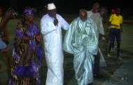 Finale régionale de Diourbel: Madame Aminata Tall la généreuse marraine n'a pas lésiné sur les moyens pour récompenser les sportifs de la région.