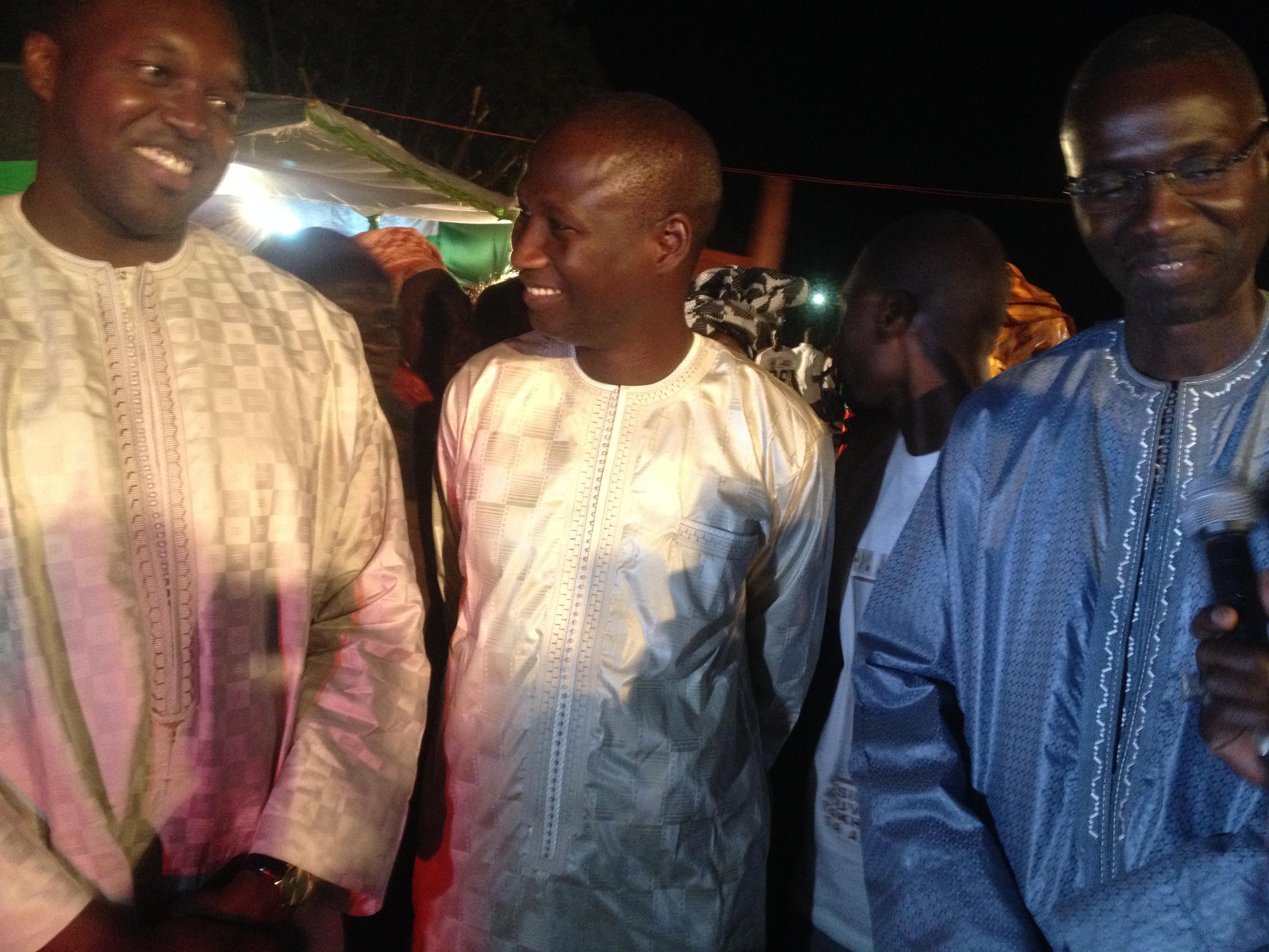 Diourbel: l'APR vient de bénéficier d'un soutien de taille en la personne de Papa Abou Camara