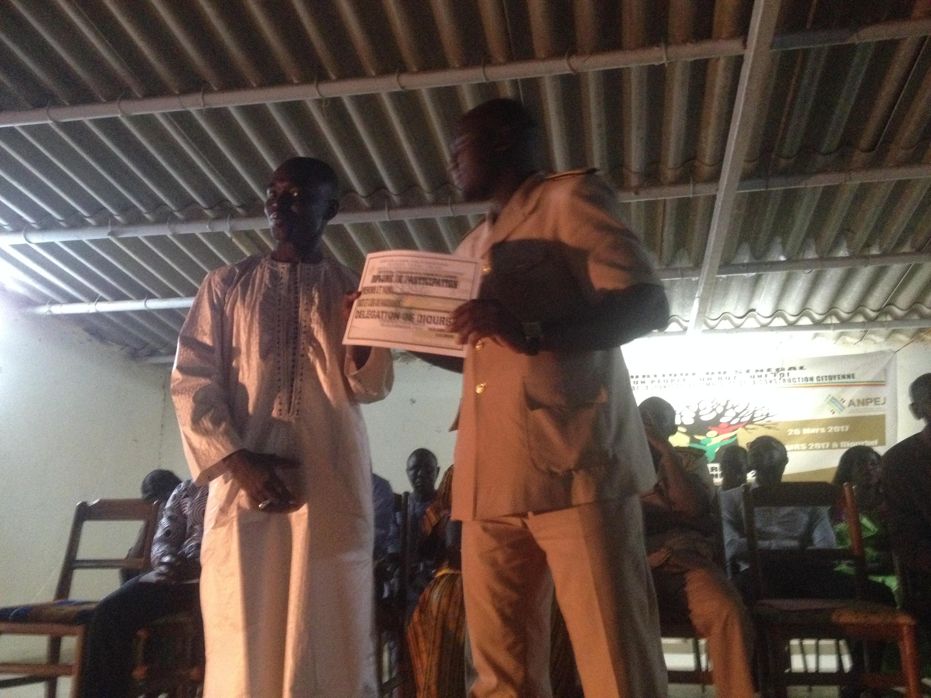 Culture : Semaine nationale de la jeunesse: Diourbel a choisi ses candidats