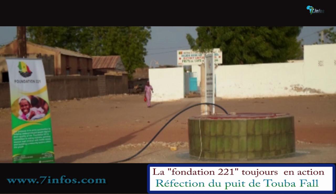 Société : Réfection du puits béni de Touba Fall par la