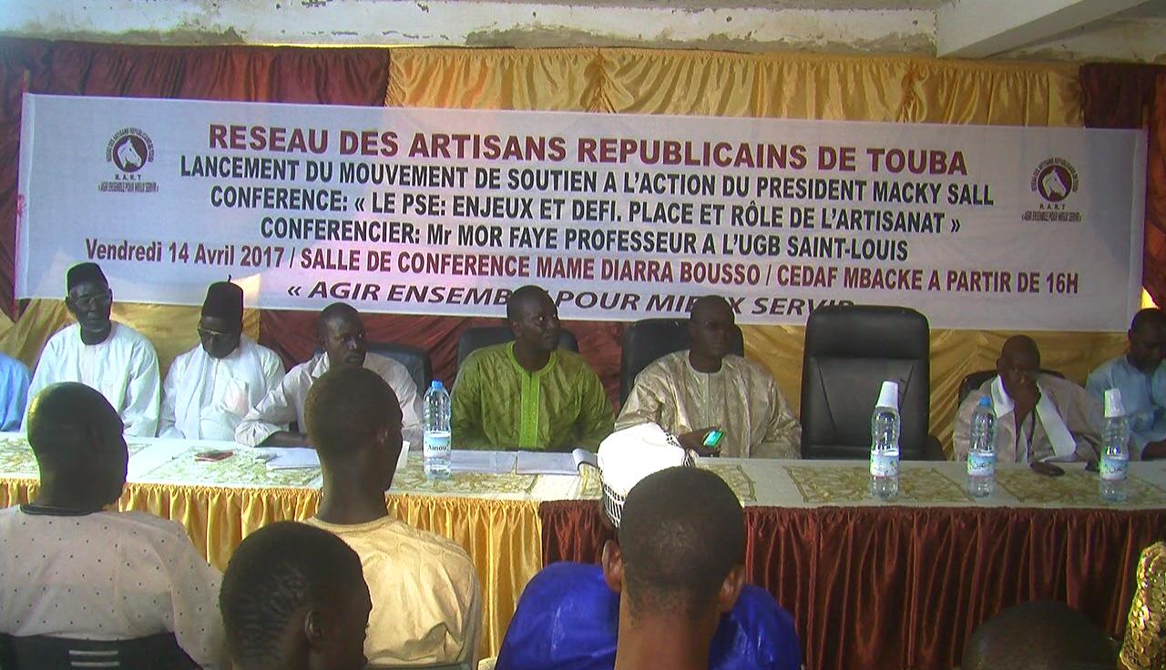 Politique : Le réseau des artisans républicains de Touba au service et à l'écoute du président Macky Sall