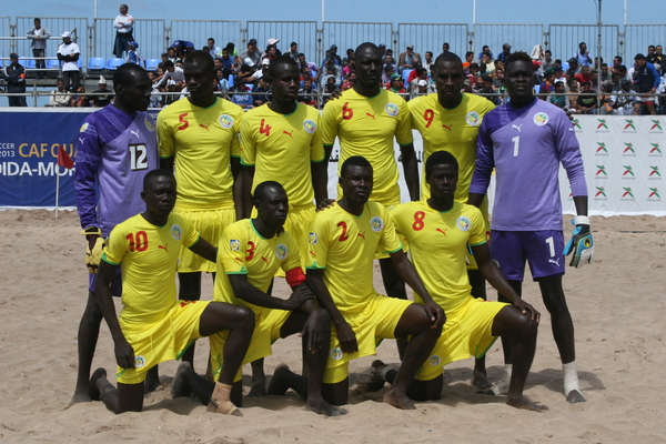 Mondial beach soccer :  Sénégal bat les Bahamas ( 10 - 1 ) et valide son ticket pour les quarts de finale