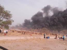 Société : Incendie au Daaka de Médina Gounass, le sauve-qui-peut devant l'horreur   (  VIDEO  )