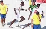 Coupe du Monde de Beach Soccer de la FIFA aux Bahamas, Equateur  0 - 9 Sénégal
