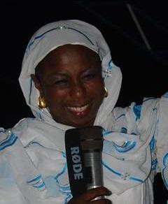 Politique : ndeye diaw bou serigne fallou tete de liste du departement de pikine plus que jamais confiante pour la victoire de la coalition pole alternatif 3éme voie Senegal dey dem