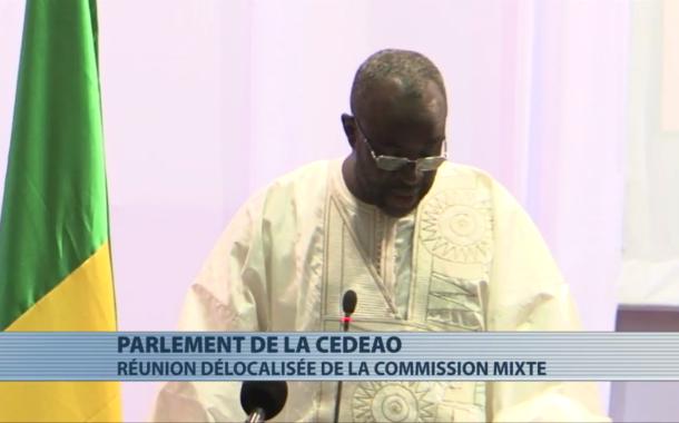 Ouverture à  Cotonou de la réunion délocalisée de la commission mixte  de la CEDEAO