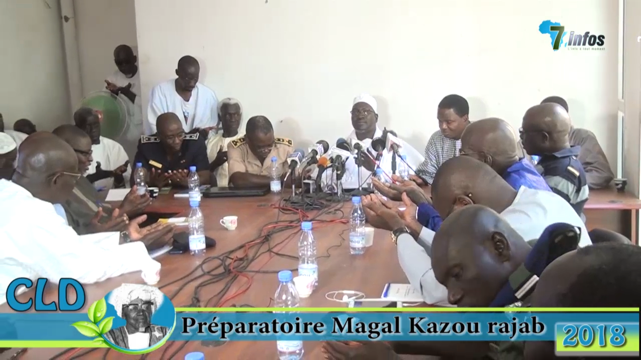 Religion : Comité local de développement ( CLD ) préparatoire magal Kazu Rajab 2018