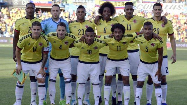 Football :  Liste des 23 joueurs de la Colombie pour le mondial 2018