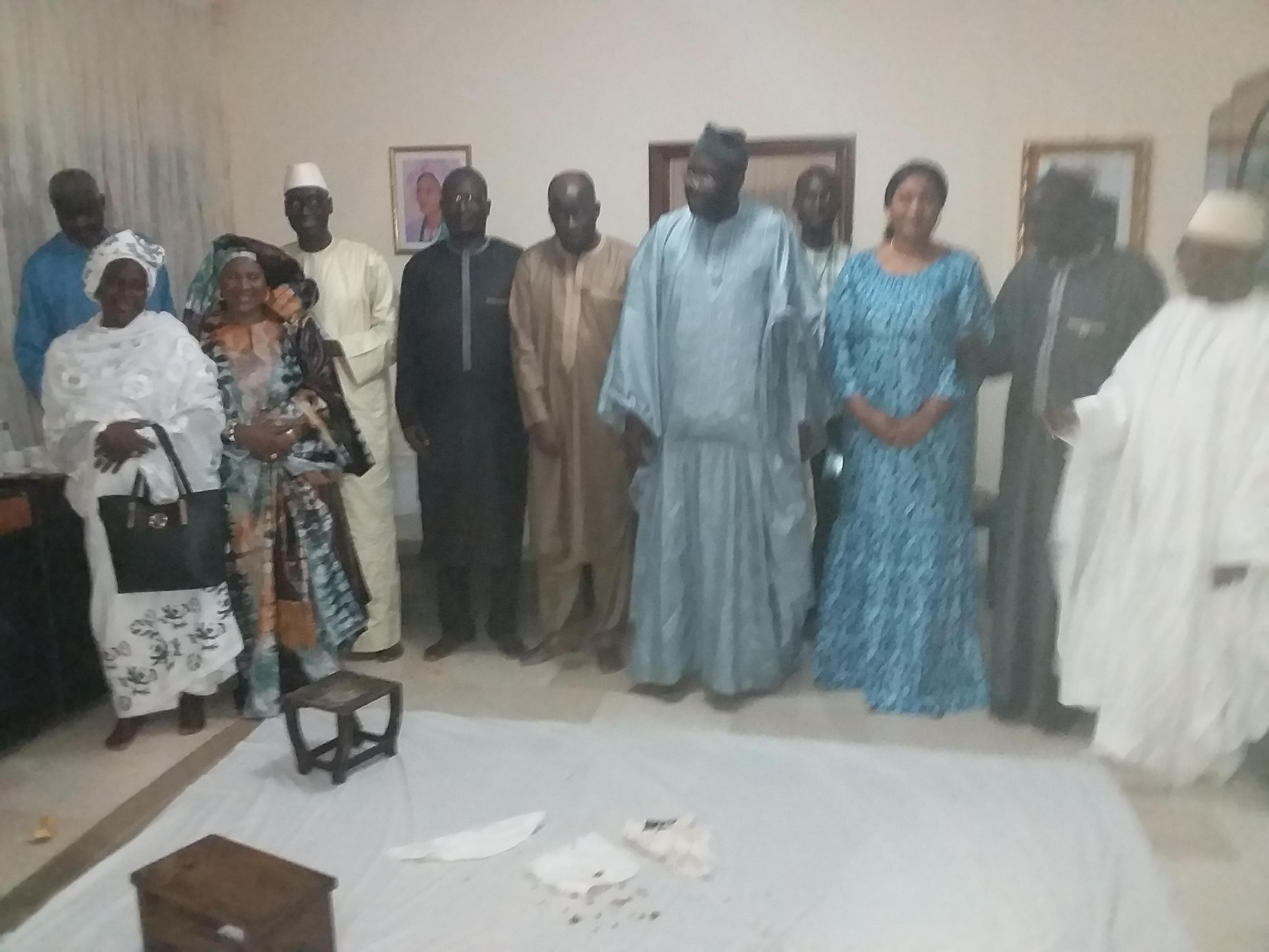 Tamkharit 2018 : L'ambassadeur du Sénégal en Cote d'ivoire offre un dîner copieux à la délégation sénégalaise du parlement de la CEDEAO