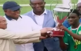 Sport : Finale du tournoi Ufoa Zone A U17 de football, le Sénégal