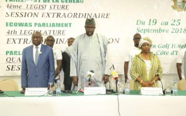 Session extraordinaire du parlement de la CEDEAO : le rôle avant-gardiste du président Moustapha Cissé Lo magnifié