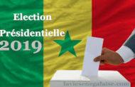 Présidentielle du 24 février 2019: voici la carte électorale et les bulletins des 5 candidats