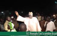 S.E Moustapha Cissé aux populations de Guédé Kaw: