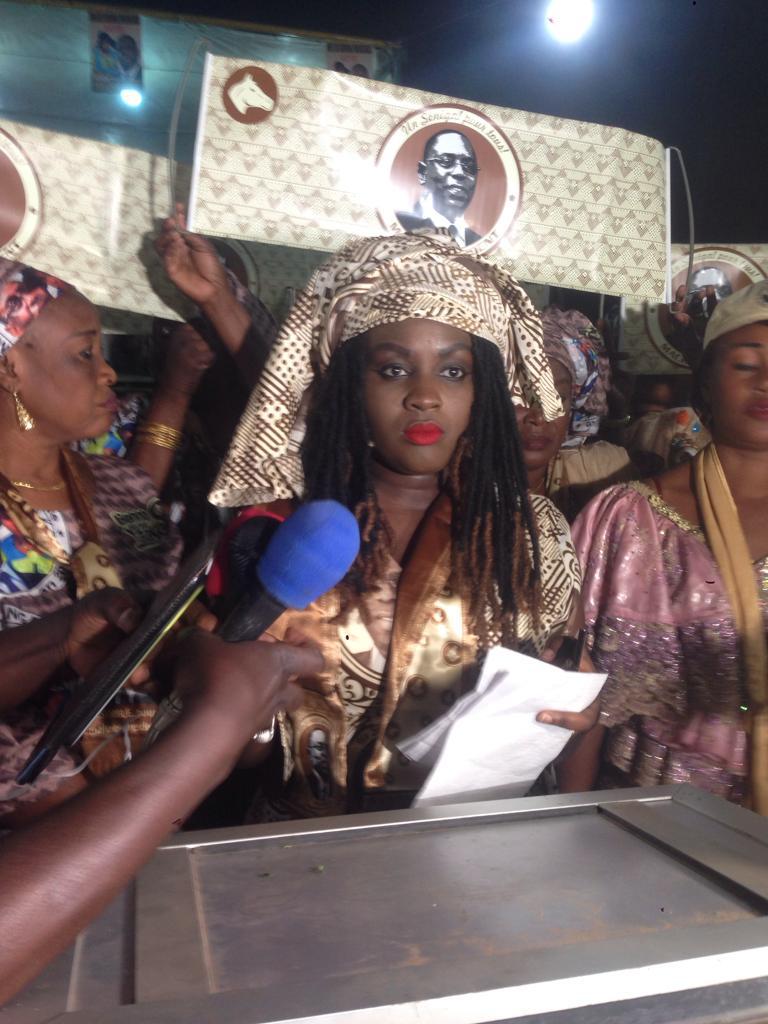 Campagne électorale : Madame Magui Mangara termine le