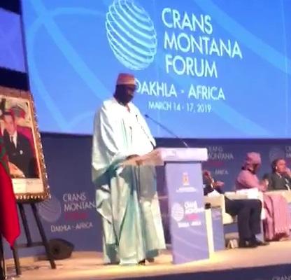 S.E. Moustapha Cissé Lo, président du parlement de la CEDEAO, parmi les invités d'honneur de la 5ème Edition du Forum de CRANS MONTANA DAKHLA-AFRICA  au Maroc