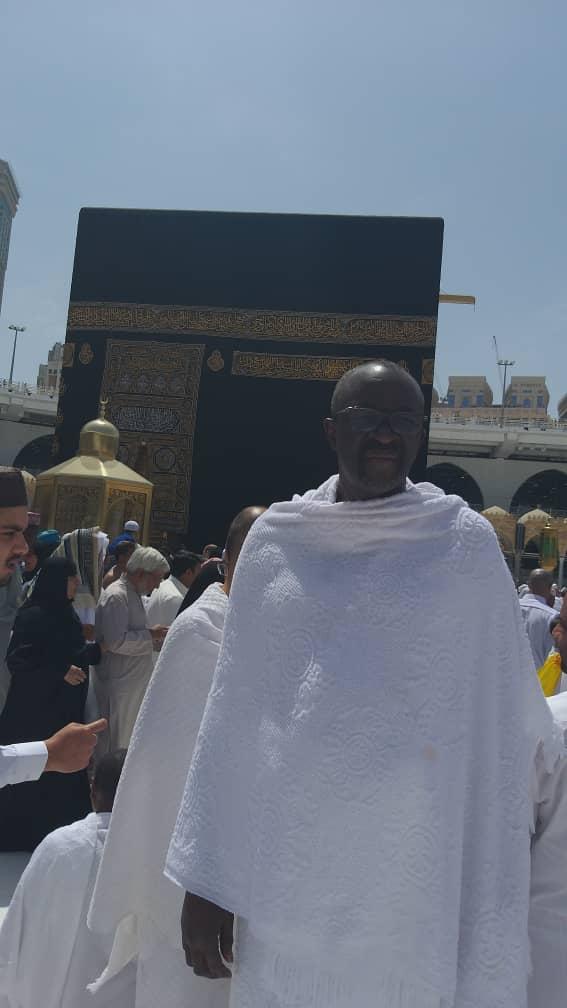 S.E. Moustapha Cissé Lo est actuellement à la Mecque pour effectuer le petit pèlerinage ou
