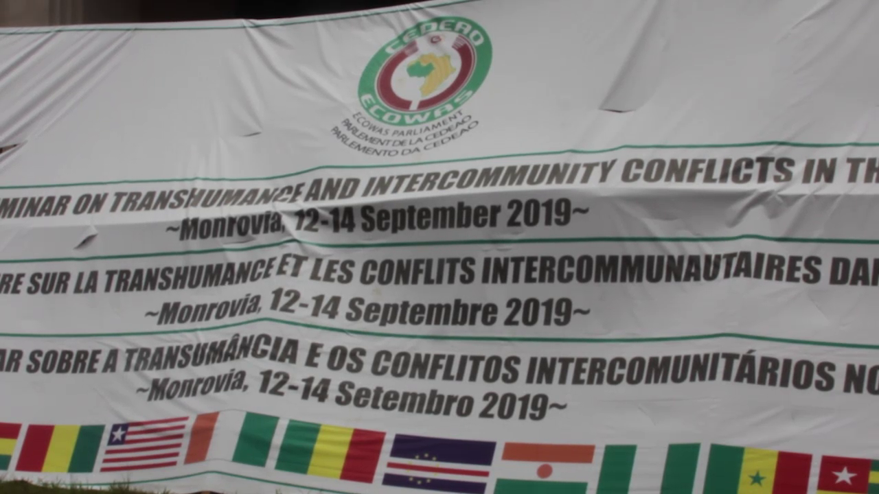 Parlement de la CEDEAO Séminaire parlementaire sur la transhumance et les conflits inter-communautaires dans l'espace CEDEAO à Monrovia au Libéria