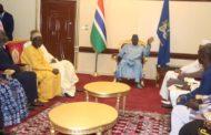 Gambie: Après l' opposition, Cissé Lo rencontre le Président Adama Barrow…