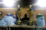 Navétanes /   Finales zone1 A et zone1B de Bambey : Le parrain  Abdoulaye  Fall,   payeur général du trésor  et président de la Ligue régionale de football de Diourbel , en communion  avec la jeunesse de son terroir